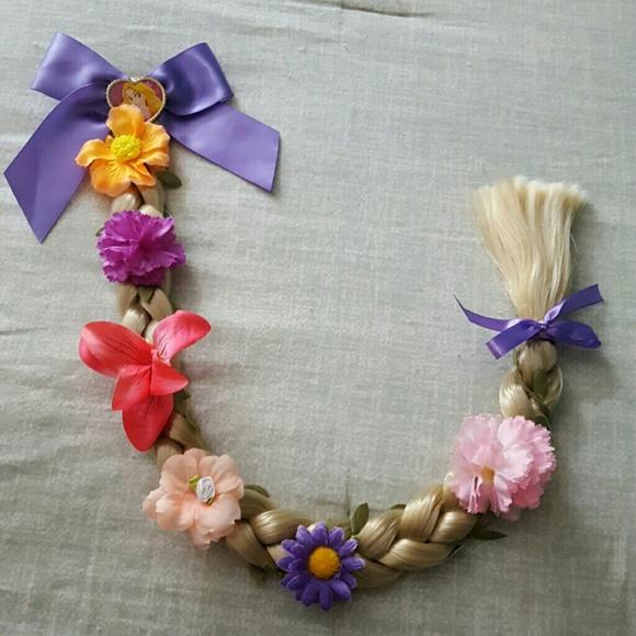 Disney Accessories Tangled Rapunzel Hair Braid Clip Halloween Poshmark
